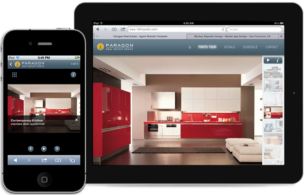 Real Estate Templates for iPad and iPhone